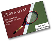 Sample membership Card
